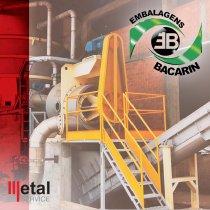 Industria de papel Araucaria agora é cliente Metal Service