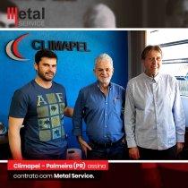 Industria papeleira Climapel (PR) assina contrato com Metal Service